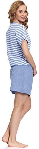 Scuro MS10 103 Donna Blu Merry Style Notte Blu Camicia da UXWwXzq4A