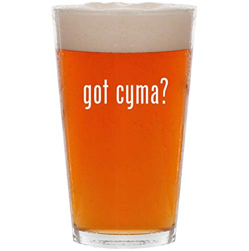 got cyma? - 16oz All Purpose Pint Beer Glass
