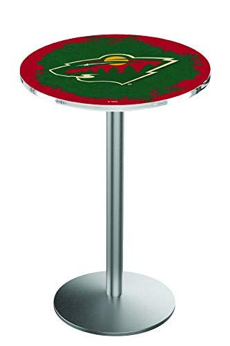 Holland Bar Stool L214 NHL Minnesota Wild Officially Licensed Pub Table, 28