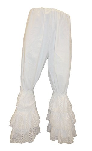 Ladies Pantaloons Costume 1890s Victorian Bloomers Saloon Girl