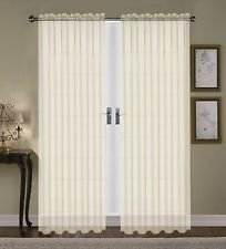 (SHEER VOILE TAILORED CURTAINS 84