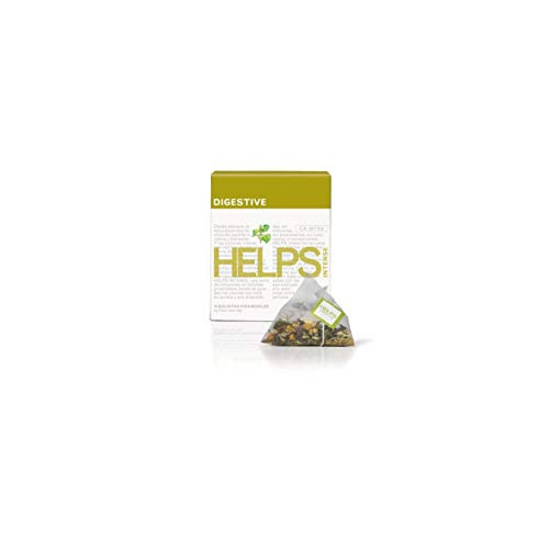 HELPS INFUSIONES - Infusion Digestiva Con Manzanilla, Menta, Anis E Hinojo Helps Intense Digestive Caja De 10 Piramides
