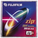 FujiFilm Zip Disk - 100 MB, Pre-Formatted for PCs