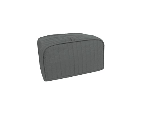 RITZ Polyester / Cotton Quilted Toaster Oven Cover, Grey