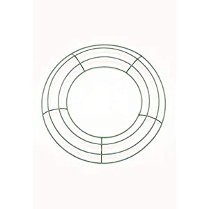 """3pc, Green Wire Wreath Form - 10"""" Wide 7"""