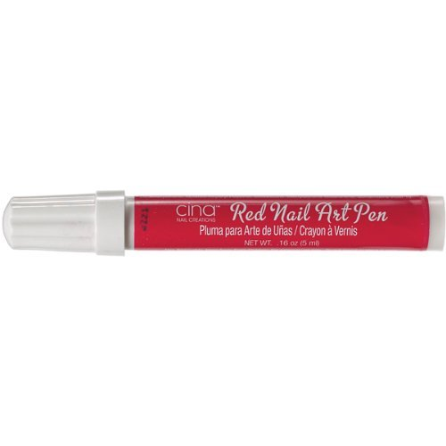 Cinapro Nail Art Pen in Red