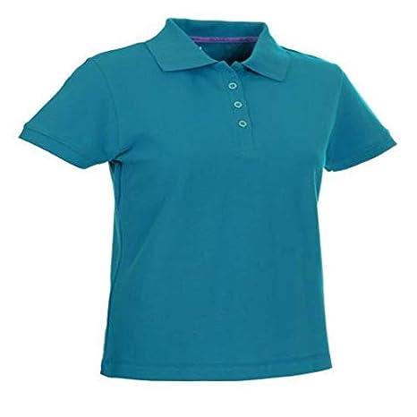 Select Polo t-Shirt Wilma Women, Turquesa, XXXL: Amazon.es ...