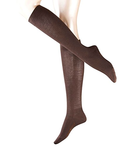 Falke Family Cotton Knee High Socks (47645) M/L/Dark Brown -