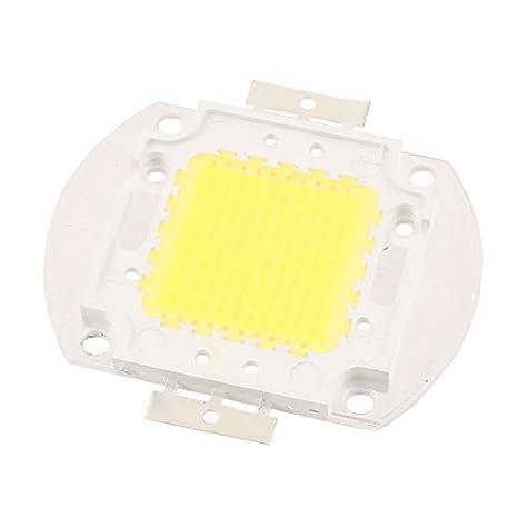 eDealMax 30-34V 100W viruta del LED del bulbo blanco puro super brillante de alta potencia para Proyector - - Amazon.com