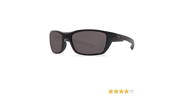 056d560aff97c Amazon.com  Costa Del Mar Costa Del Mar WTP01OGP150 Whitetip Gray 580P C- Mate 1.50 Blackout Frame Whitetip