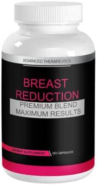 Breast Reduction Pills Burn Chest Fat Quickly Without Breast Reduction Surgery or Breast Reduction Bra. Works for Man Boobs and Male Breast Reduction. Bust Reduction for Men and Women 60 Caps