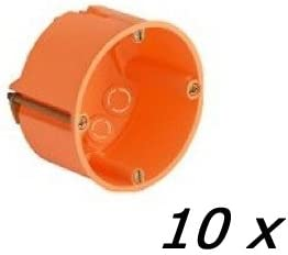25x Hohlwanddosen tief Schalterdose 68mm 61 mm tief Hohlwanddose