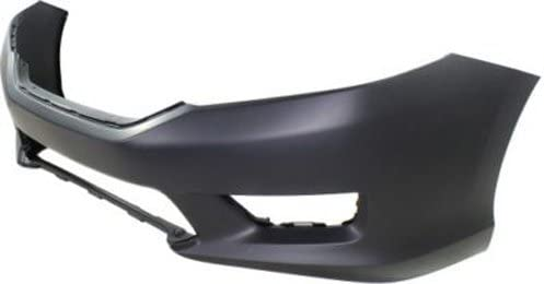 Crash Parts Plus Primed Front Bumper Cover Replacement for 2013-2015 Honda Accord Sedan