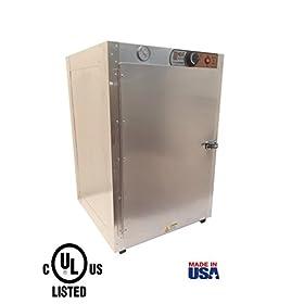 HeatMax Commercial 19x19x29 Hot Box Food Warmer, Pizza Warmer, Catering Hot Food Warmer, PIzza, Pastry, Patty Warmer