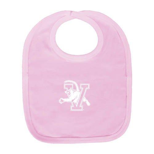 Vermont Light Pink Baby Bib 'Official Logo' by CollegeFanGear