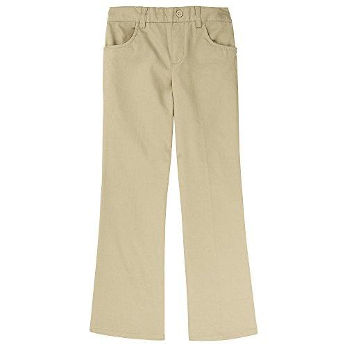 French Toast Girls Plus Size' Twill Bootcut Pull-On Pant, Khaki, ()