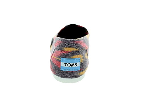 1019B09R mujer Toms 38 Sole Multi 5 Rope Canvas negro para Zapatos Ikat color talla Pink EnqZp4q