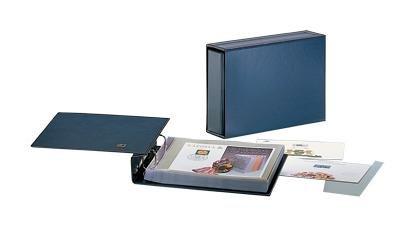 Caja fuerte de 7990 anillas Compact horizontal álbum y caja ...