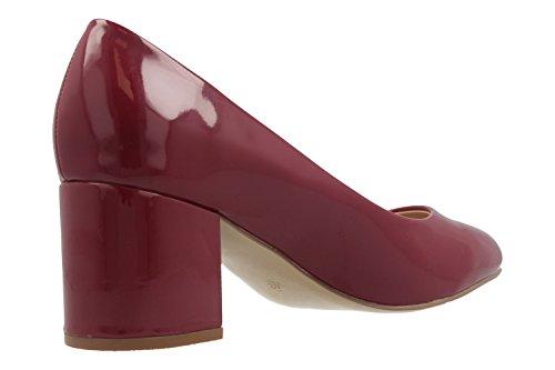 Fitters Footwear - Zapatos de vestir de Material Sintético para mujer rojo rojo