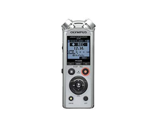 Olympus LS-P1 – Grabadora de Audio Digital de Alta Resolución con Micrófonos Estéreo Direccionales, Ligación USB…