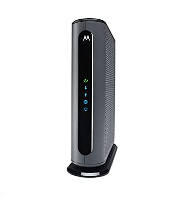 Motorola Ultra Fast DOCSIS 3.1 Cable Modem, Model MB8600, plus 32x8 DOCSIS 3.0, Certified by Comcast XFINITY