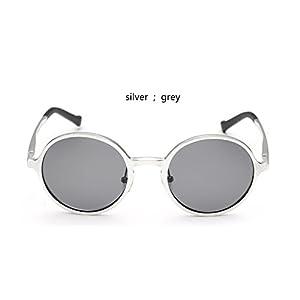 Aluminum and Magnesium Sun Glasses Men Round Polarized Sun Glasses Man Glasses Accessories Glasses,Yellow