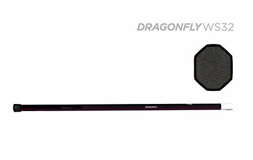 Cross Section Diameter - Epoch Lacrosse - Dragonfly 2013 WS-32 Women's Composite Shaft- iQ6, ⅞ Slim Diameter Cross Section, Slip/Grip with 10