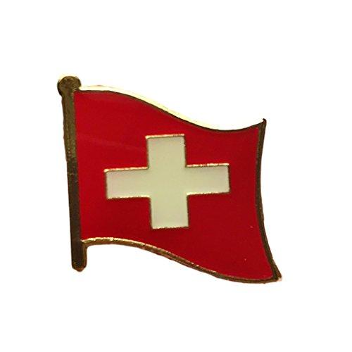 Backwoods Barnaby Switzerland Flag Lapel Pin