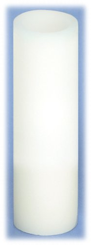 White Wax Flameless Battery Candle by Melrose International - 1.75x6