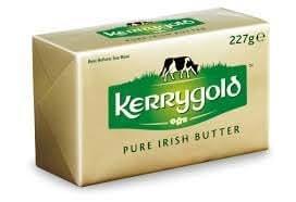 Kerrygold Pure Irish Grass-fed Butter, 8 Oz (8 Pack)