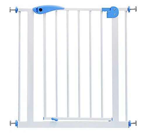 Safety Gates Extra Tall Pet Gate with Cat Flap Effective Barrier for Pets with Extensions Available, 82-200 cm (Size : 122-130cm)