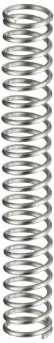 Compression Spring, Stainless Steel, Metric, 4.5 mm OD, 0.5 mm Wire Size, 5.11 mm Compressed Length, 10 mm Free Length, 7.78 N Load Capacity, 1.51 N/mm Spring Rate (Pack of 10)