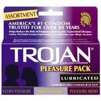 mesh trojan condom pleasure