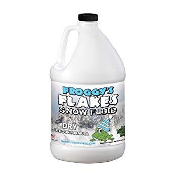 Amazon.com: Froggys Fog - 1 Gal - Dry Snow Fluid - Low ...
