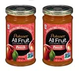 Polaner All Fruit Spreadable Fruit Peach, 10.0 OZ (Pack of 2)