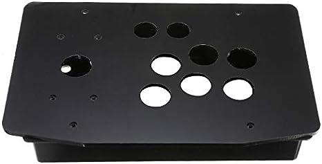 JVSISM Caja de panel de acrílico Kits de juego de arcade de manija ...