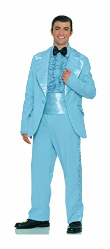 UHC Men's Prom King Outfit Classic 50's Style Suit Theme Party Costume, OS (Up to (Prom King Costumes)