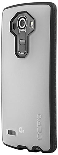 LG G4 Case, Incipio [Clear] Octane Case for LG G4-Frost/Black