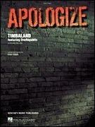 Apologize Timbaland featuring OneRepublic Easy Piano