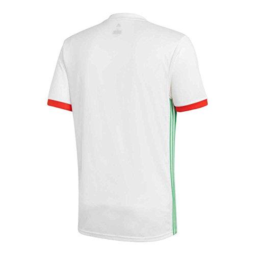 seflli rouge L'algérie Maillot Adidas Blanc Homme De Pour 4Y6Zq