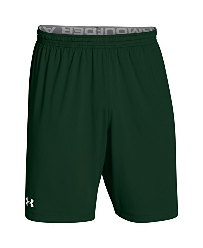 Under Armour Men's UA Raid Team Shorts Large Forest Green