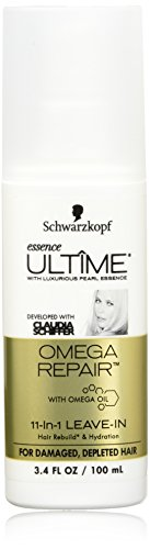 Schwarzkopf Essence Ultime Omega Repair 11-in-1 Leave-in Hair Product, 3.4 (Repair Essence)