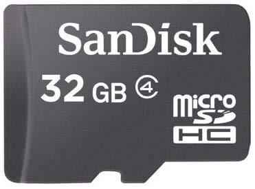 SanDisk 32GB MicroSDHC Memory Card