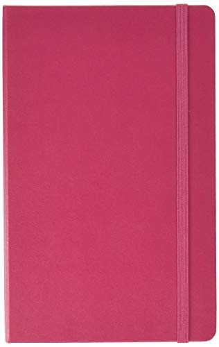 Moleskine 2018 12 Month Weekly Planner Large 5 x 825quot Berry Rose Hard Cover Weekly Planner for Work and School
