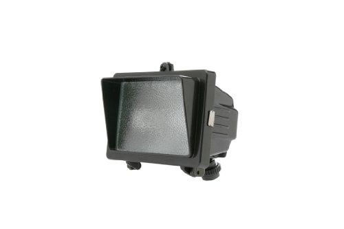 Designers Edge L-56BR 150-Watt Mini Halogen Floodlight, Bronze