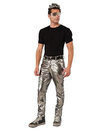 (Forum Novelties Mens Futuristic Silver Pants)