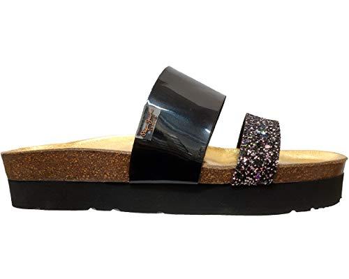 Pepe Black Noir Oban Femme999 Mars Sandales Jeans ybfg76