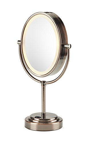 Conair Double Sided Lighted Makeup Mirror Lighted Vanity
