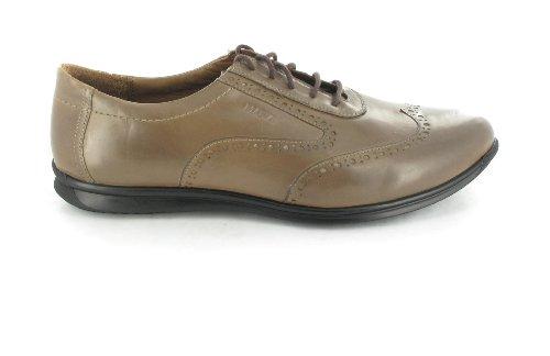 Manz , Chaussures de ville à lacets pour homme Marron Brun 47,5 EU