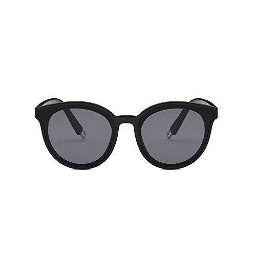 Hombres Moda Femeninas Tendencia Gafas Sunglasses Coreana Sol de Color de Gray Champagne Sol Gafas Sol Tea Gafas de de 4qqwpv8B